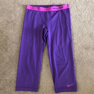 Nike Pro Dri Fitted Crop Pants